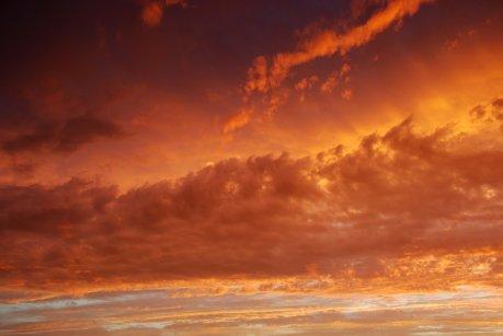 bushfire_sunset