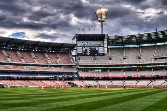 Clouds Gather Over the MCG