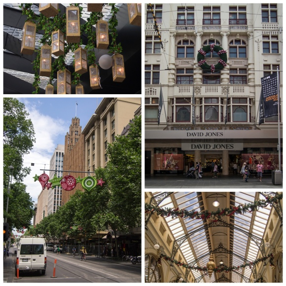 Melbourne at Christmas