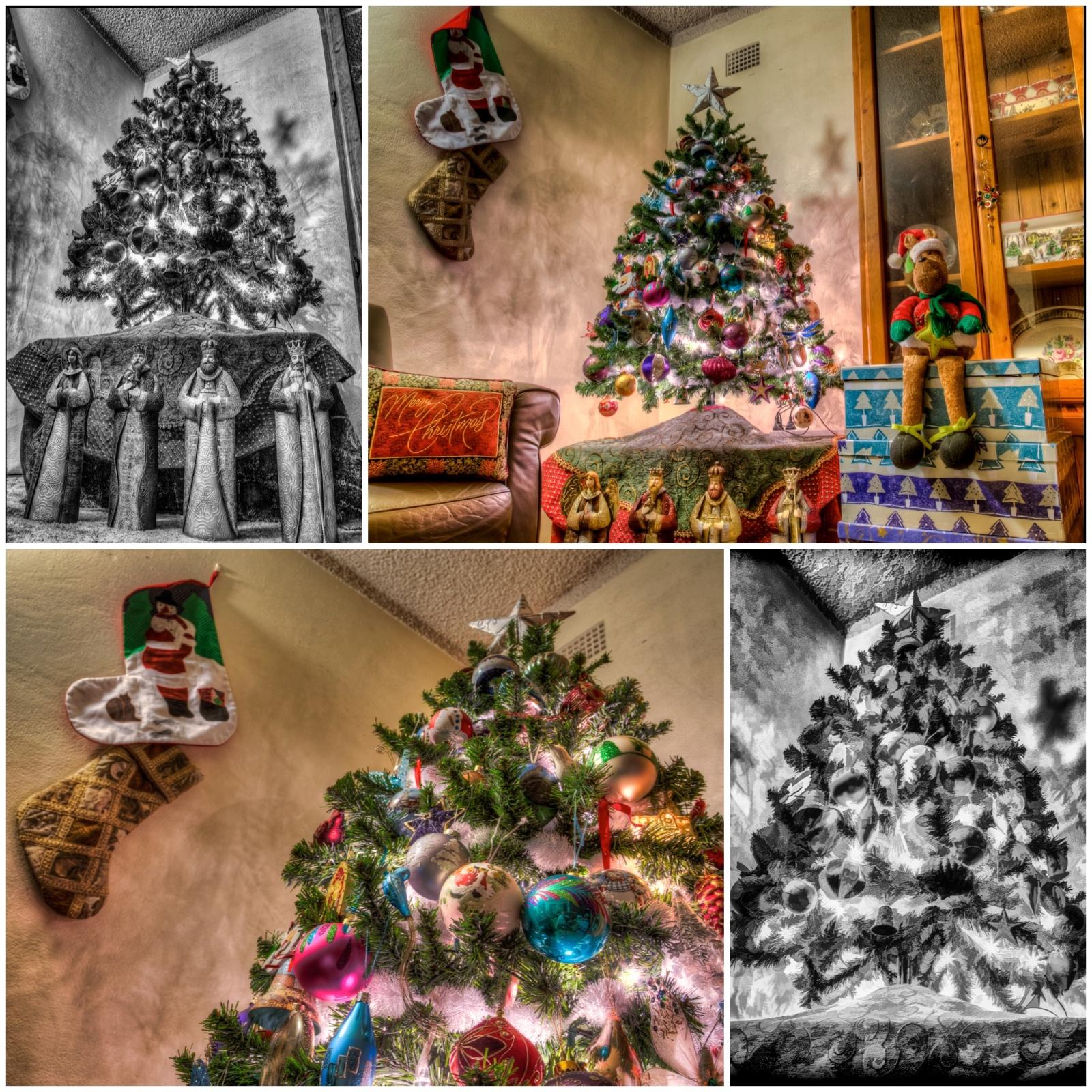 Christmas Tree Diptic