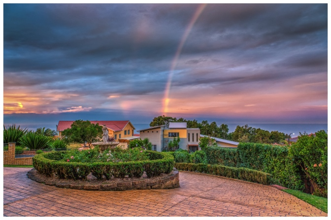 Rainbow from the Rose Garden