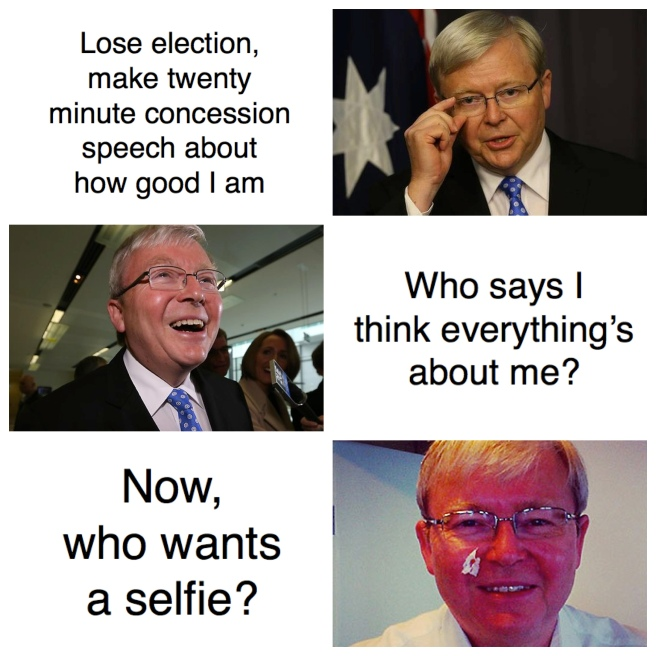 Rudd's Concession Speech