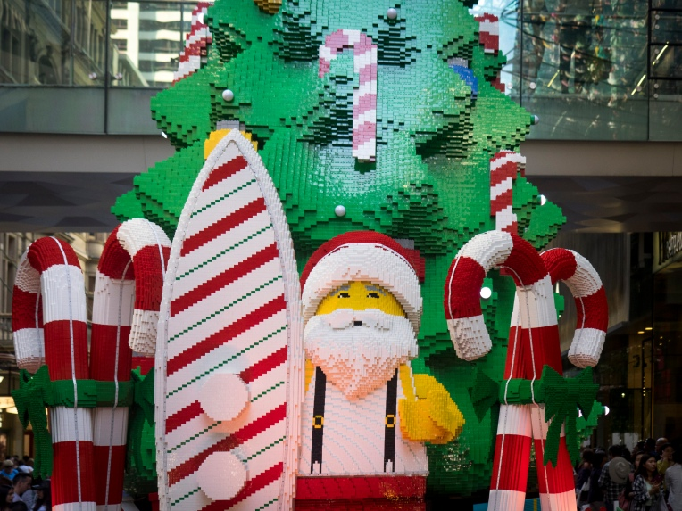 Sydney Lego Santa