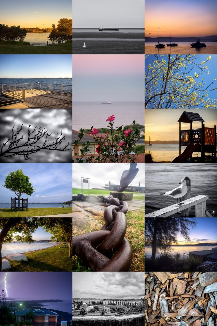 Newcastle Photo Collage