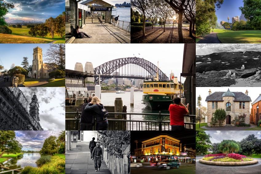 Sydney Photo Collage