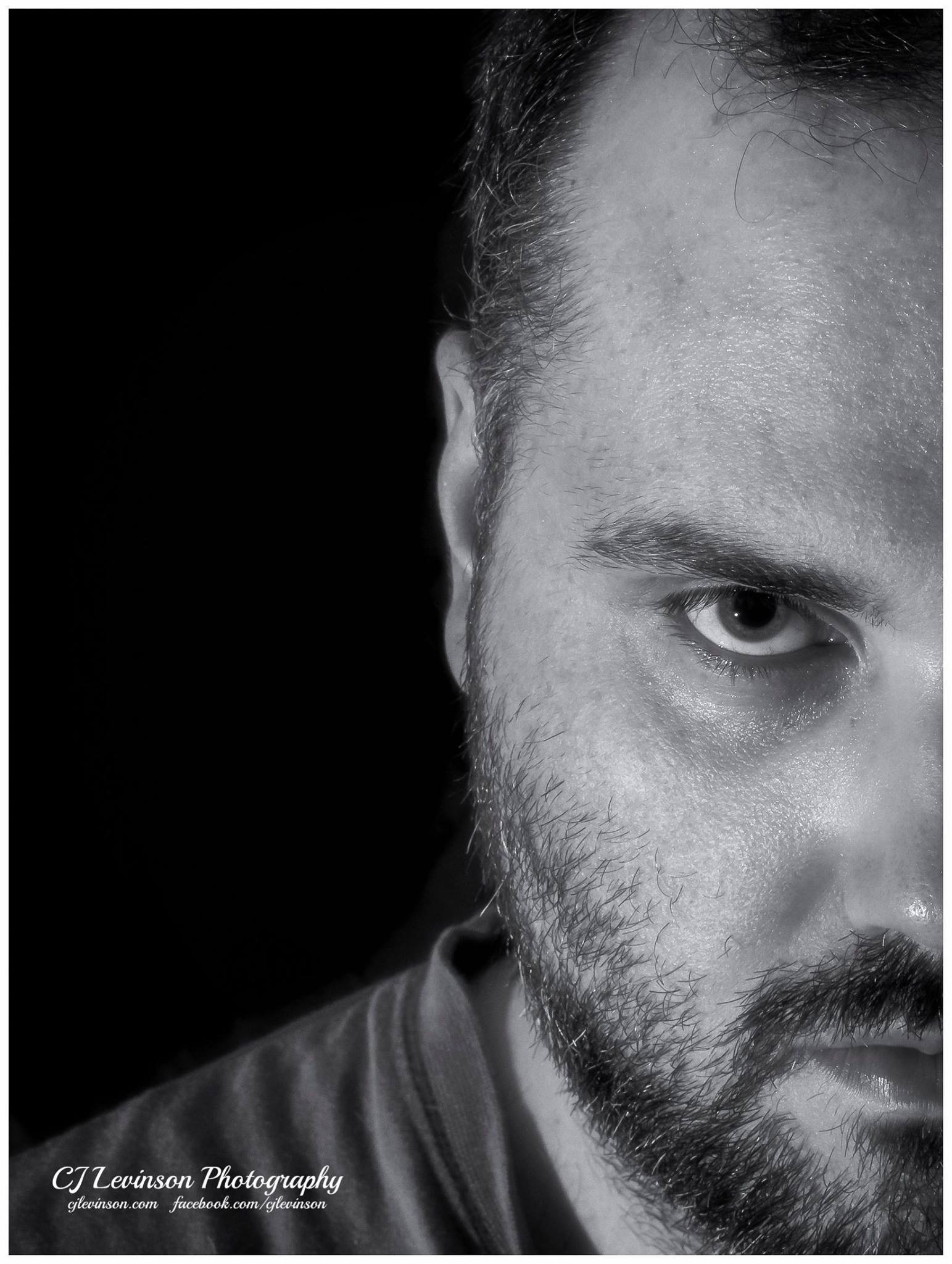 Self Portrait in Black and White