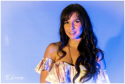 Coloured Gels Portrait Shoot-10