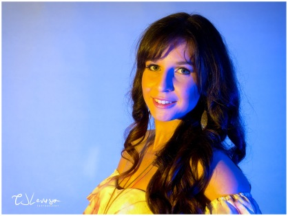 Coloured Gels Portrait Shoot-11