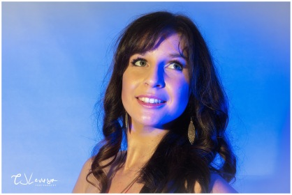 Coloured Gels Portrait Shoot-12
