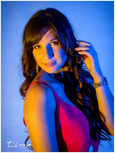 Coloured Gels Portrait Shoot-8