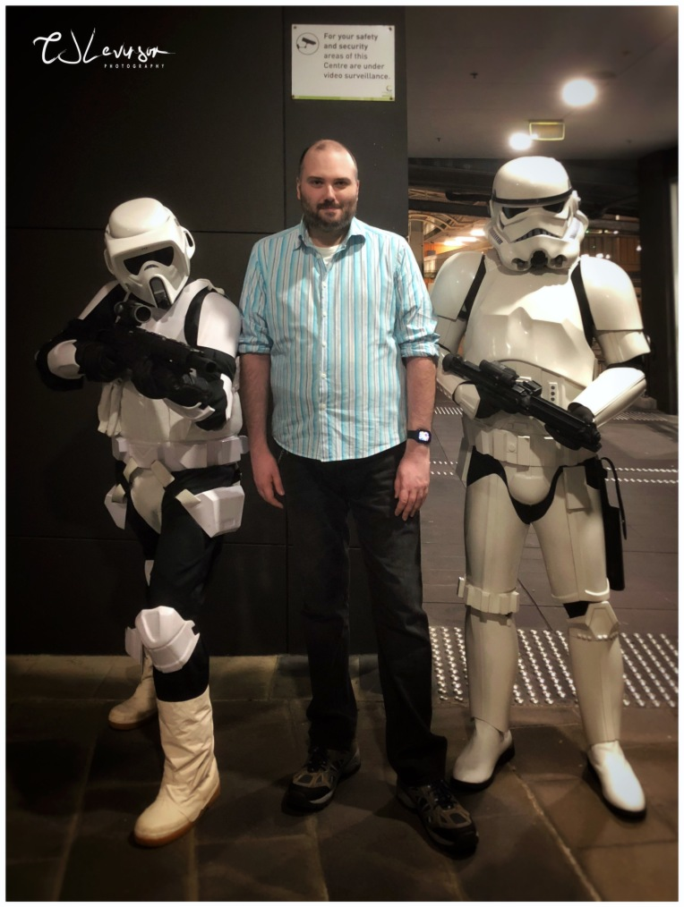 CJ and the Stormtroopers