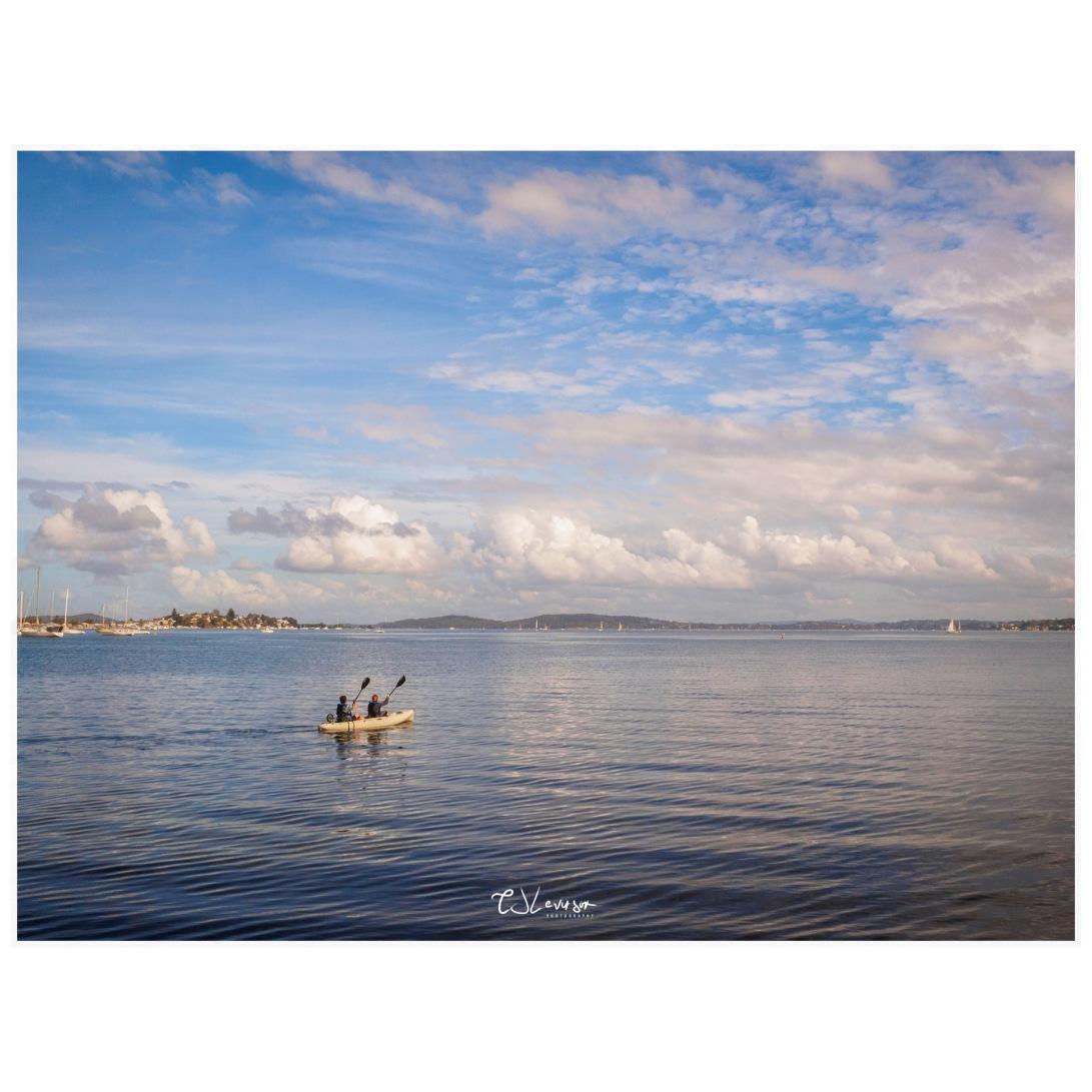 Kayaking on the Lake (square)