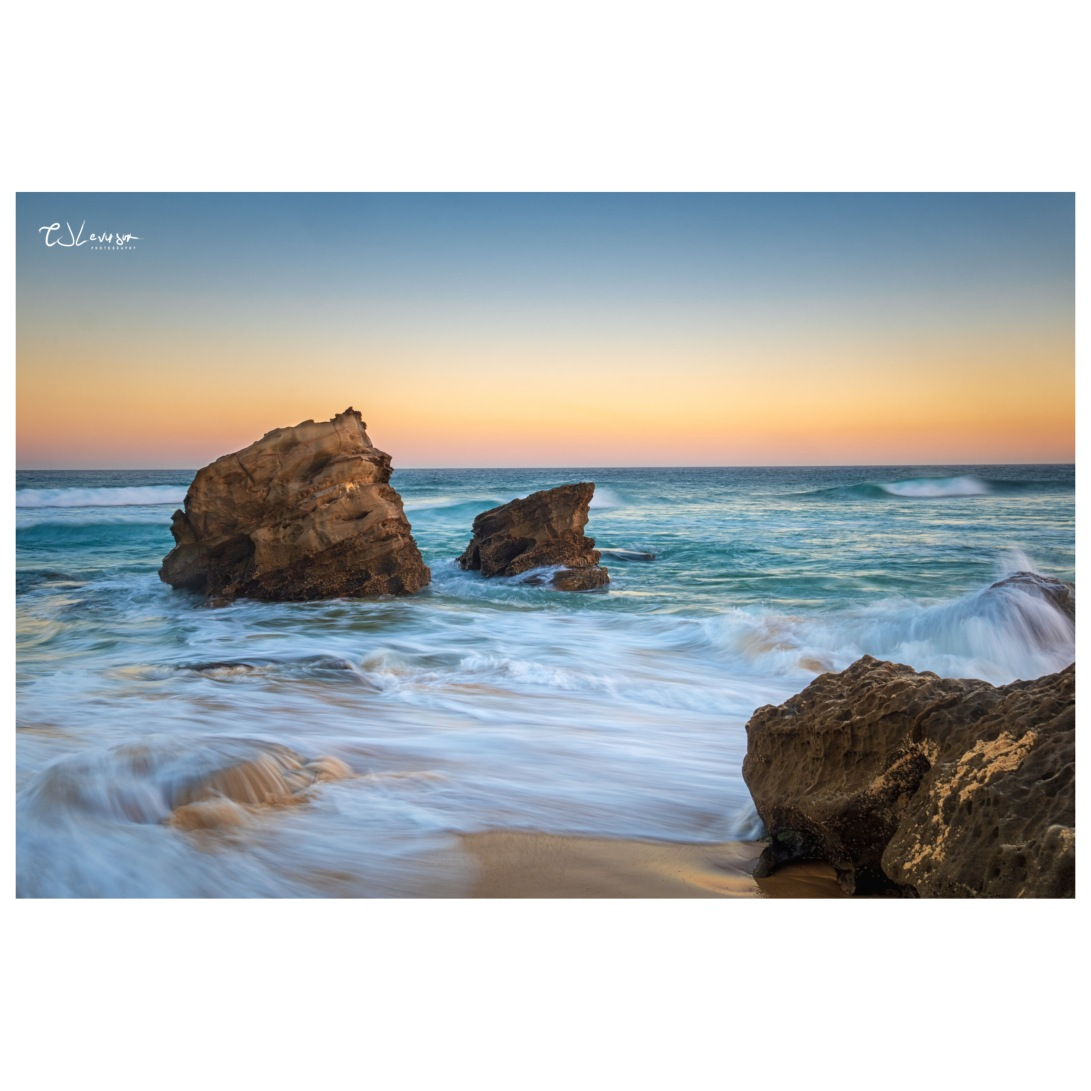 Redhead Beach Rocks (square)
