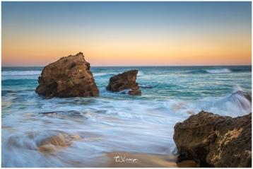Redhead Beach Rocks